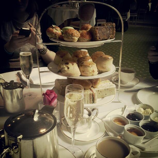 High Tea at Harrods