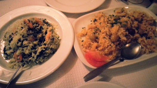 Risotto and Baaz